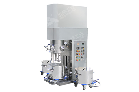 Mid-batch Dual Planetary Mixer working principle