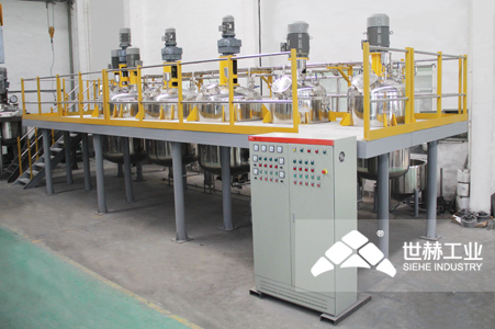 Water-based Paint Complete Production Line working principle