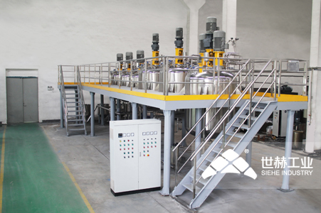 Water-based Paint Complete Production Line typical case